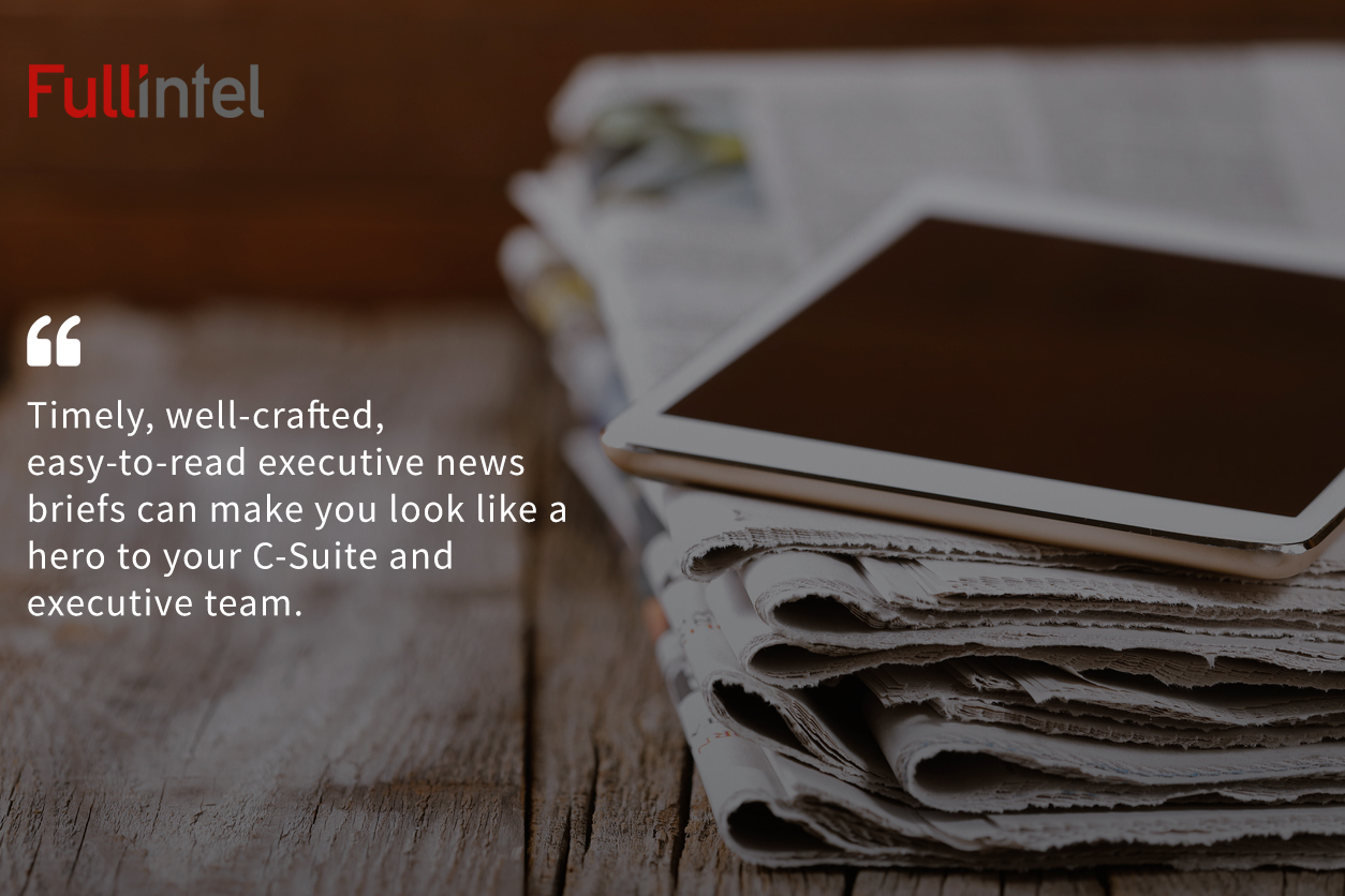 Why Timely Executive News Briefs Can Be A Lifesaver For PR Teams At Large Organizations